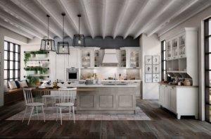 klasszikus olasz konyhabútor
